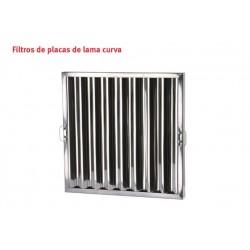 FILTRO PLACA INOX CON LAMA...