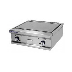 FRY-TOP GAS ACERO LISO 800 MM