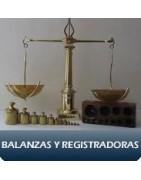 BALANZAS Y REGISTRADORAS
